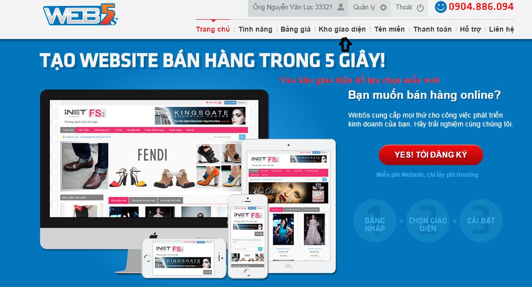 thiết kế website bán hàng giá rẻ tại hcm